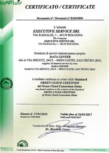 Conforme allo Standard ECOENERGY di Bioagricoop